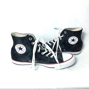 Black Converse AllStar Hightop size 10